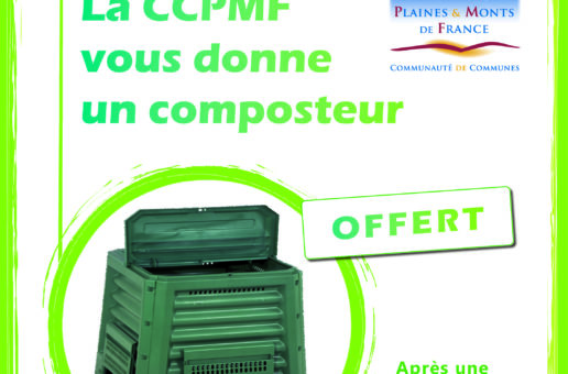 La CCPMF vous donne un composteur
